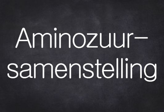 Aminozuursamenstelling